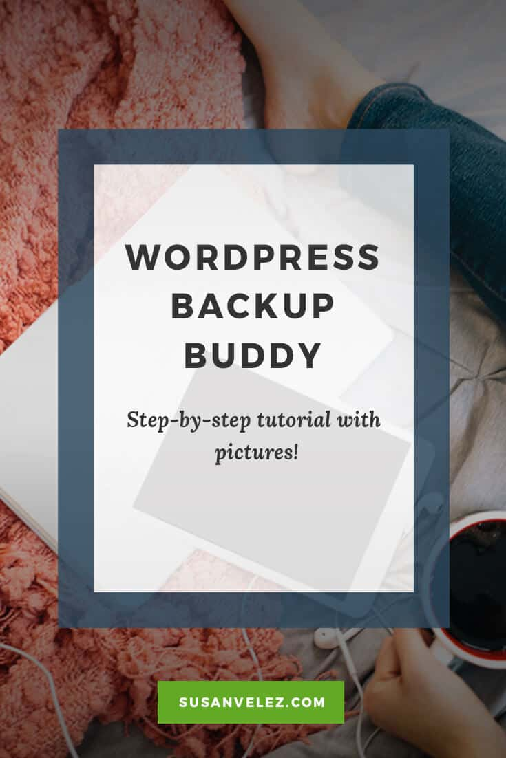 Complete walk-thru of using WordPress Backup Buddy plugin. Click here to Follow along with pictures step-by-step.
