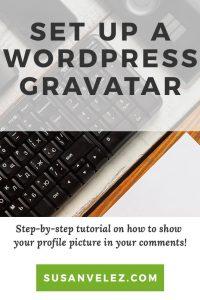 how to setup a WordPress gravatar