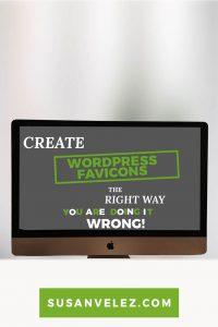 create a favicon for your WordPress blog