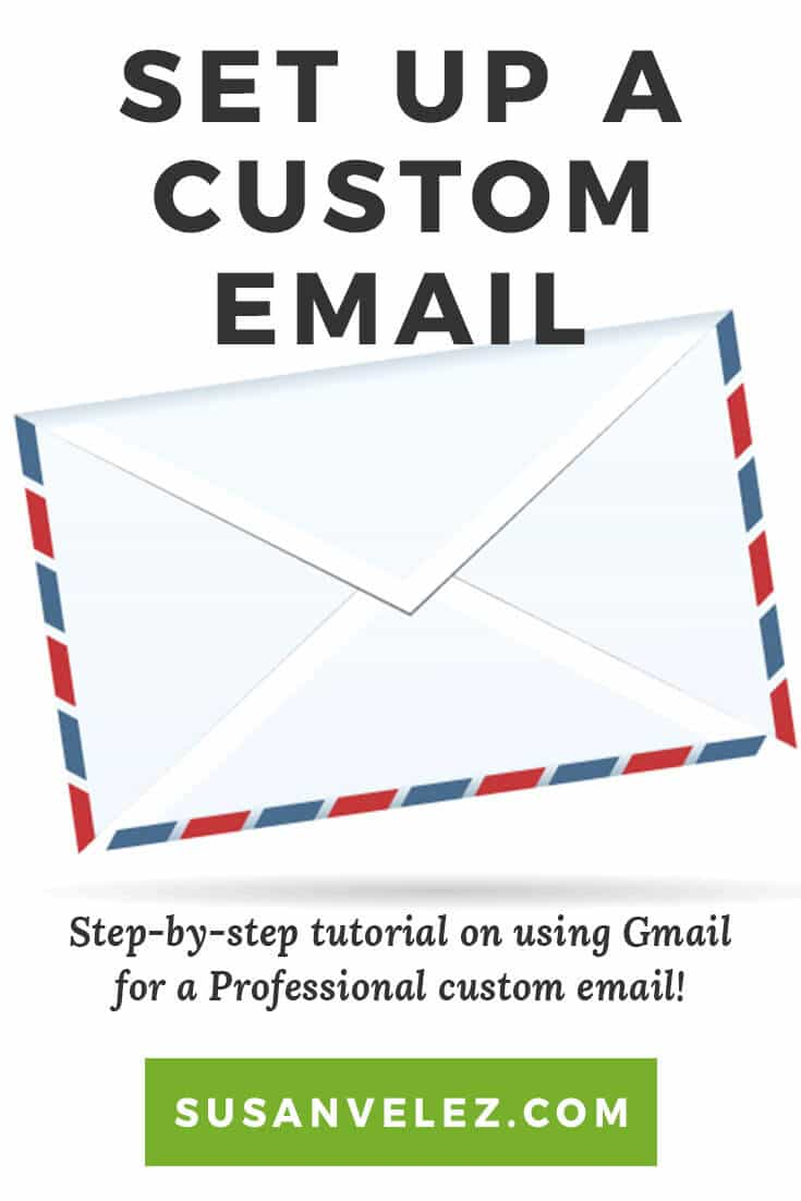 How To Setup A Custom Email Using Gmail