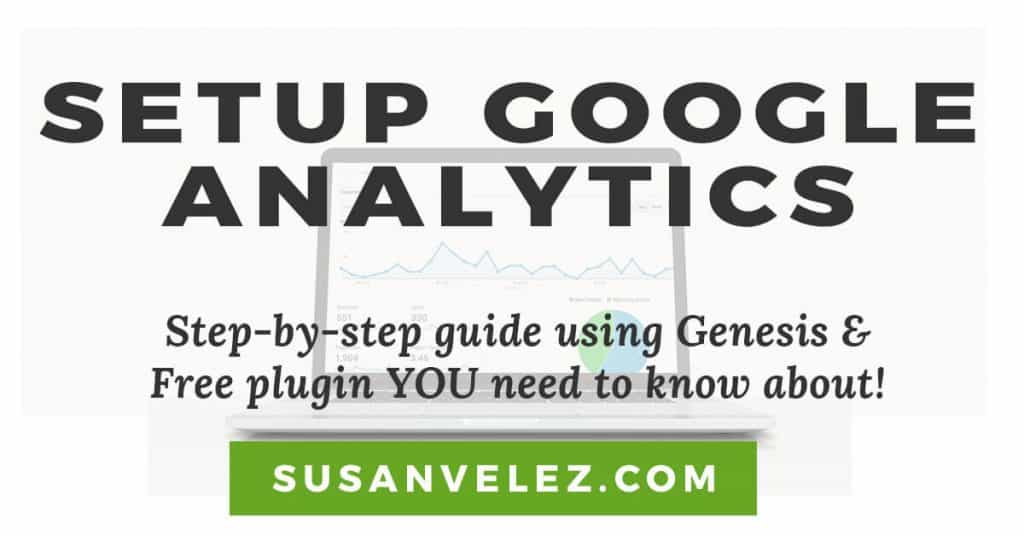 how to set up Google Analytics on WordPress