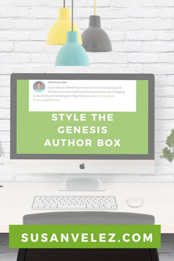 style Genesis author box