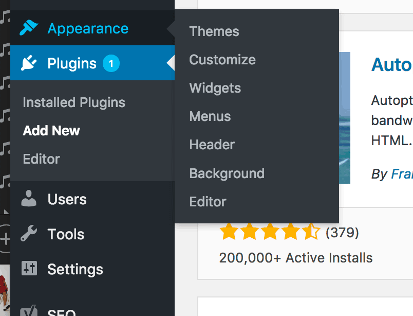 Installing A WordPress Plugin