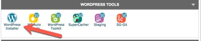 WordPress installer