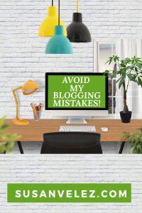 big blogging mistakes