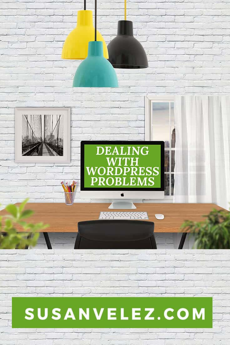 how to deal with WordPress problems as a beginner