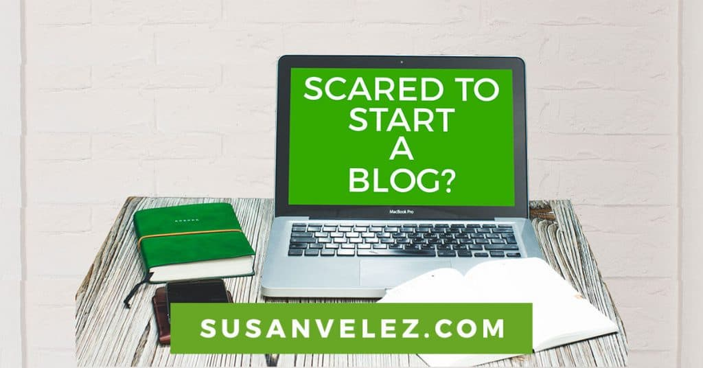 scared to start a blog