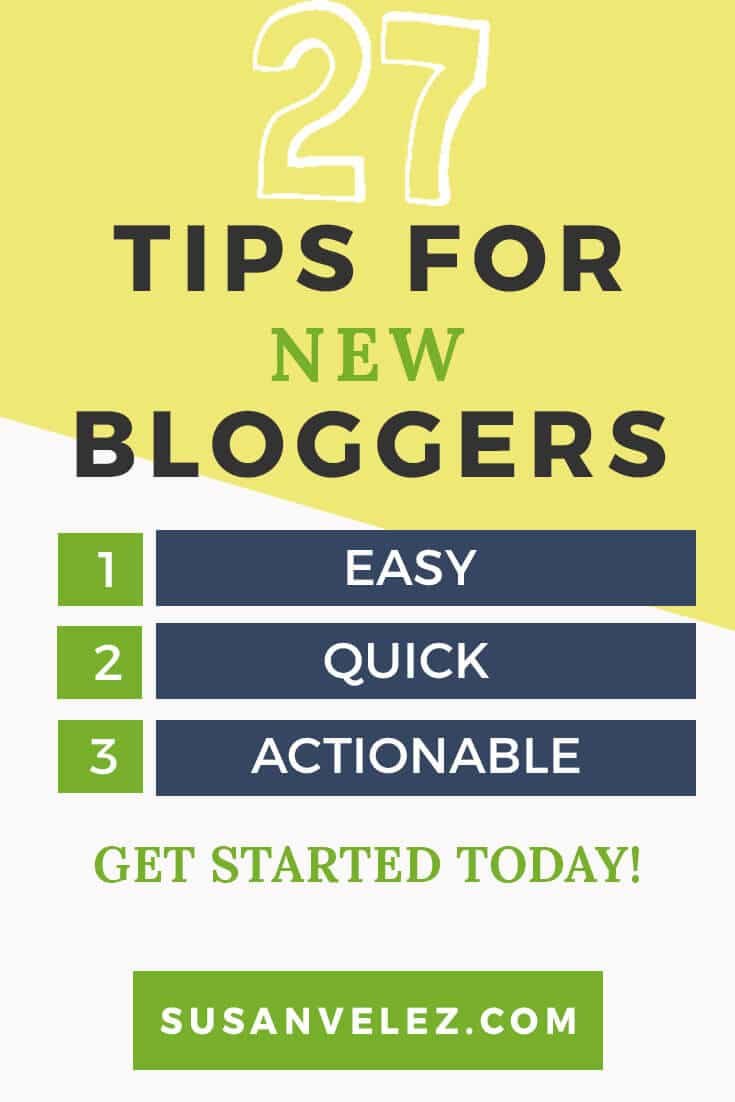 27 Tips for New Bloggers Make the Most of Your Blogging Journey