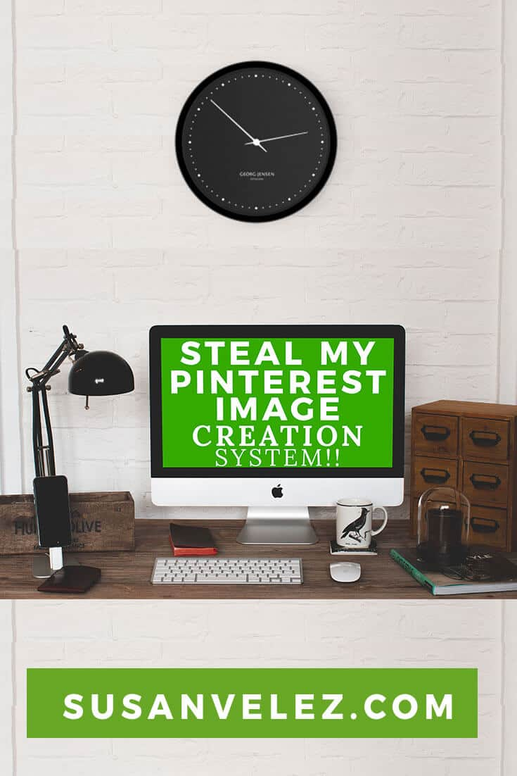 Learn how to make your Pinterest images for your posts. The built in template makes it easy to make the right size for your social media network. It's kind of like having Cheat sheets in front of you.