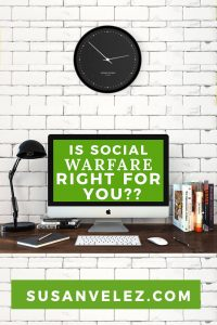 The Social Warfare plugin provides you a template for the image size. This makes it easy to learn how to make the right size of an image for your social media channels. No more wasting time trying to find cheat sheets.