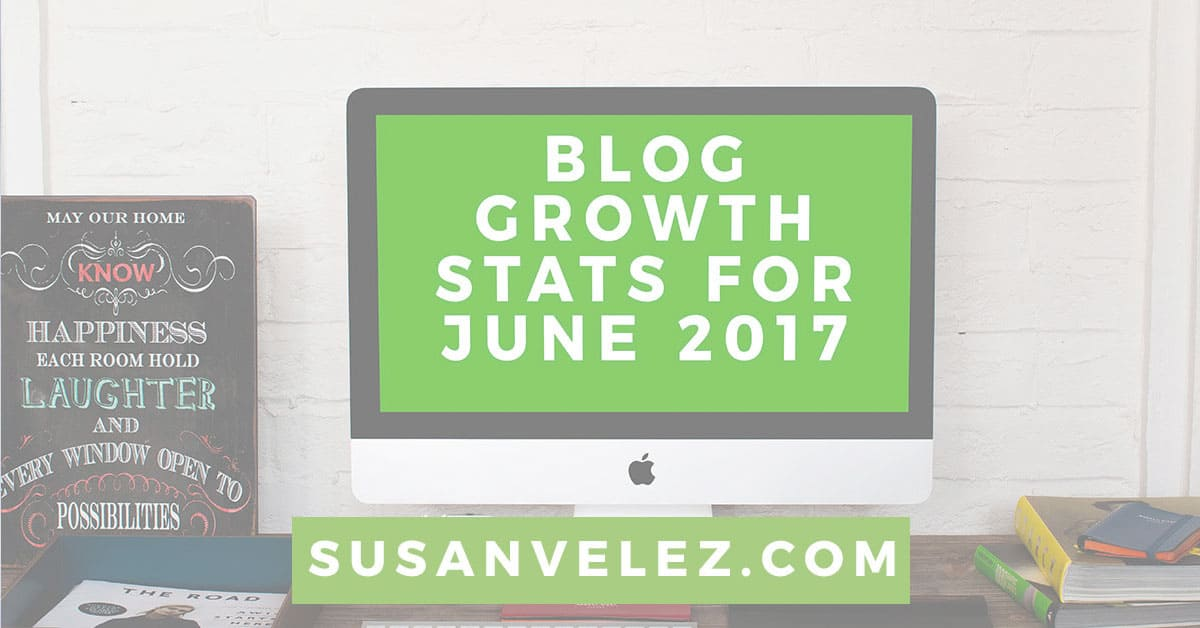 blog growth stats for June 2017