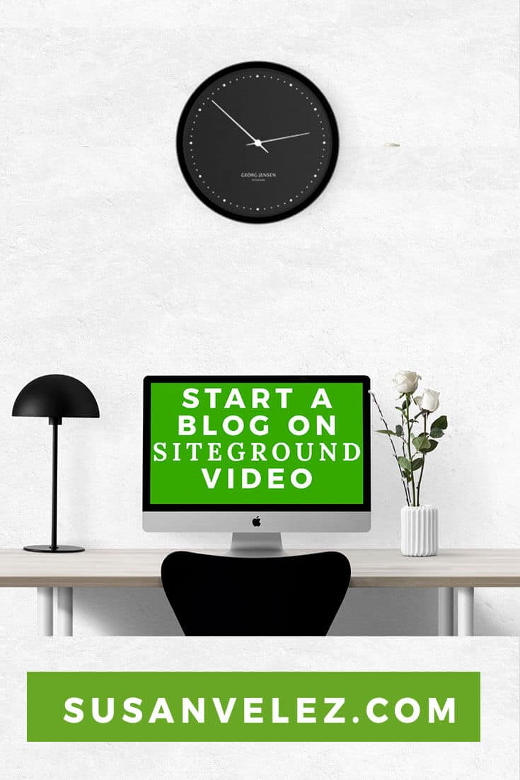 WordPress Tutorials: How to start a self-hosted blog on SiteGround. Watch as I show you how to install WordPress on SiteGround in just 5 minutes.