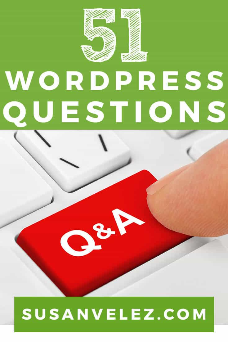 51 Most Common WordPress Questions Answered