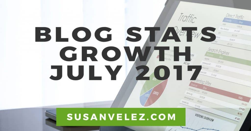 blog stats growth July 2017