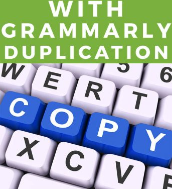 Dealing With Grammarly Duplication Issues