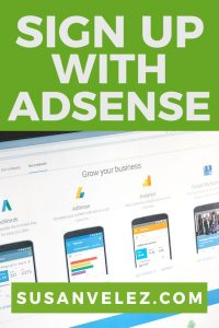 how to sign up for Google Adsense