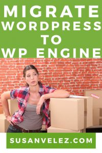 migrate a WordPress blog to WP Engine