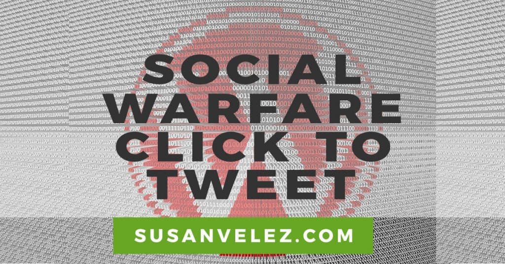 Social Warfare click to tweet