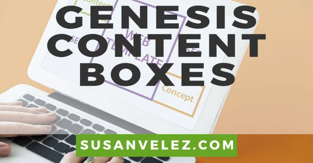 add content boxes to your Genesis child theme