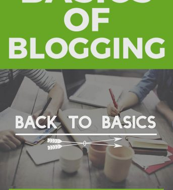 The Basics of Blogging – What I've Learned