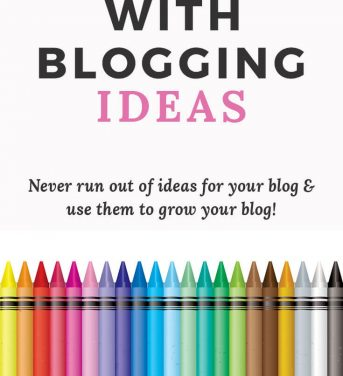 42 Ways of Coming Up With Blogging Ideas To Last You All Year