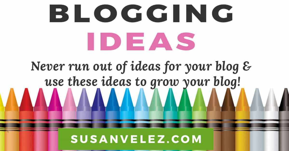 coming up with blogging ideas