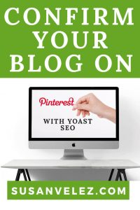 Learn how to use the Yoast SEO plugin to verify your WordPress blog on Pinterest. These tips will save you hours from reading other articles on the web.