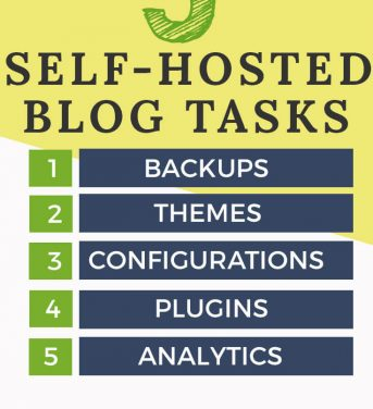 5 Things to Do After Installing A Self Hosted Blog