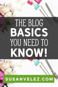 What are the basics of blogging? Do I need to know everything before I start my blog? Get all the blog answers you need to start, grow and monetize your blog. #blogging #blogger
