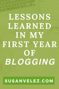 If you're starting a blog for money or to leave your full-time job. There are lessons to follow if you want to see success. It doesn't matter what niche you're in, blogging takes a lot of work. Find out what I've learned in my first full year of blogging.