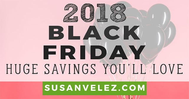 black friday deals for bloggers
