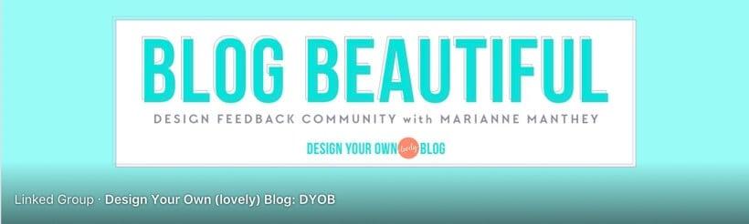 Blog Beautiful Facebook Group