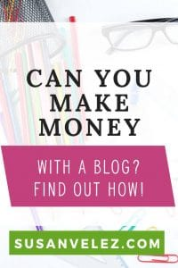 Can you make money blogging? Every new blogger wants to learn how to make money with their blog. Starting a self-hosted WordPress blog, however, it takes a lot to learn how to make money online. Their are several different types of income streams available for bloggers to monetize their blogs. If you're ready to learn how to make money with your blog and need to know how to get started, click here to read my tips.