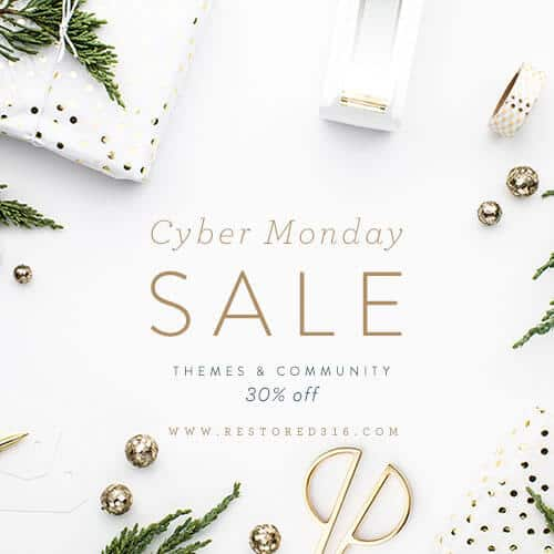CyberMonday Restored 316 deals