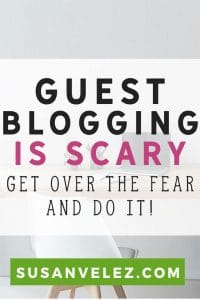 Guest posting is scary. Getting started with guest blogging can be challenging for a new blogger. Find out what I did to overcome my fear. Plus why I use it to help me grow my blog. You don't want all your blog traffic coming from one source.