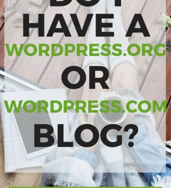 How Do I Know If I Installed WordPress.org or WordPress.com