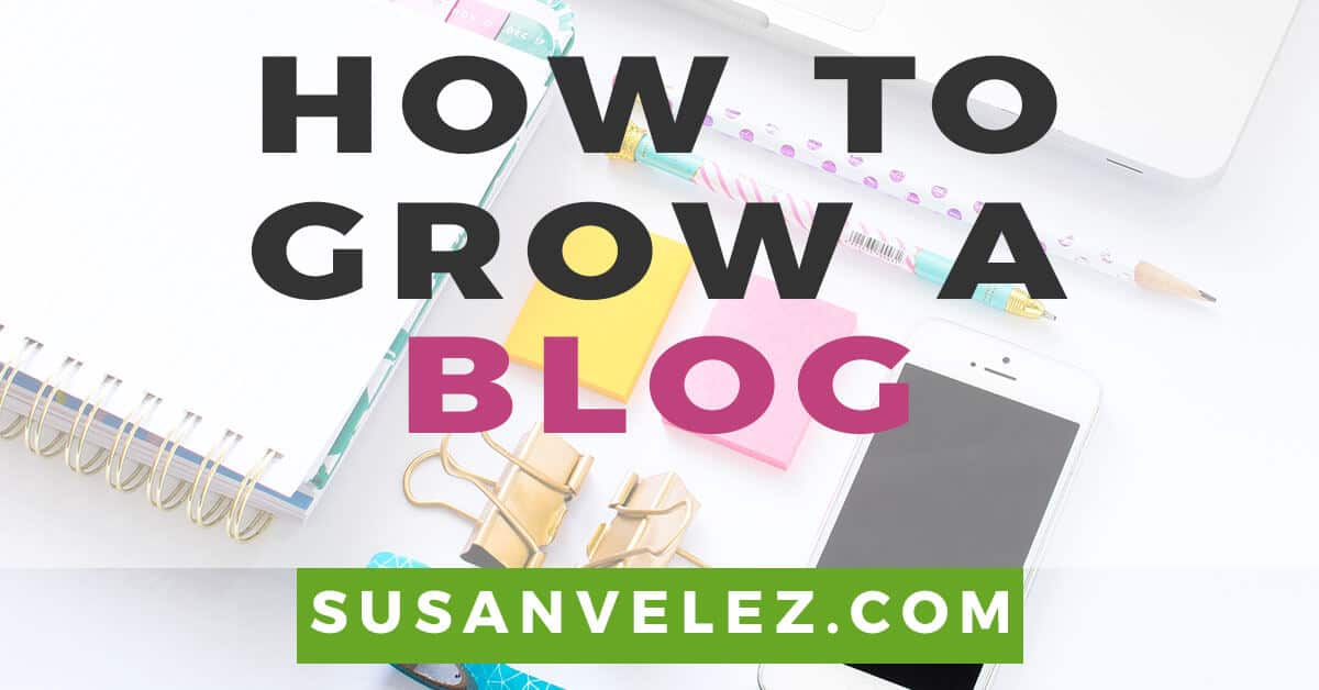 how to grow a blog