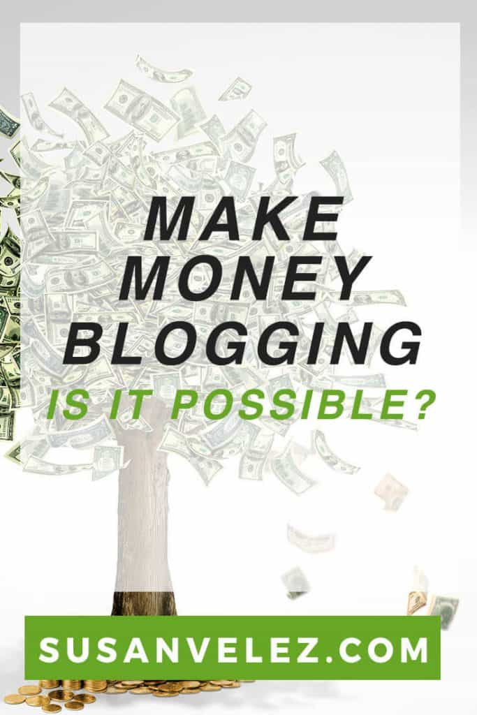 How much money can you make blogging? Did you start a blog to create a passive income lifestyle? If so then find out what it takes to make money with a blog and why you need to keep working hard.
