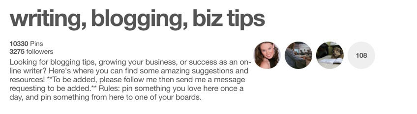 Writing Blogging Biz Tips