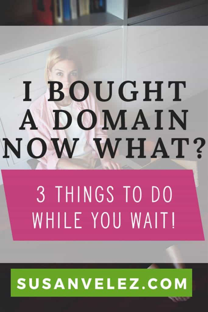 I bought a domain now what do I need to do. Starting a blog can be confusing. Let's get your blog connected to your hosting account and setup your custom email as well as.