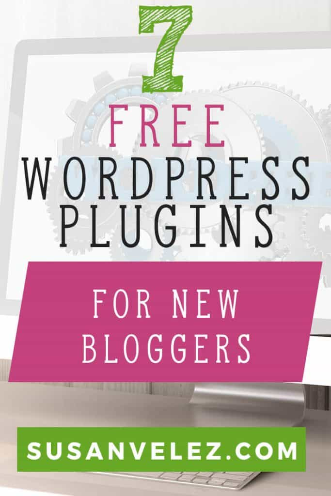Best free WordPress plugins for bloggers. These WordPress plugins will take your website and turn it into a money making machine. You'll find social media plugins and the best plugins that are perfect for new bloggers such as Yoast SEO, Cache plugin, and other helpful plugins for a successful blog.