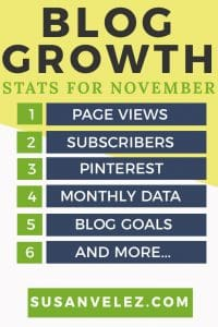 Here are my blog growth stats for November 2017. Growing a blog is hard. If you are a new blogger and you want to make money online. You will have to find ways to promote your blog and build a loyal follower. I share what I am doing to grow my blog.