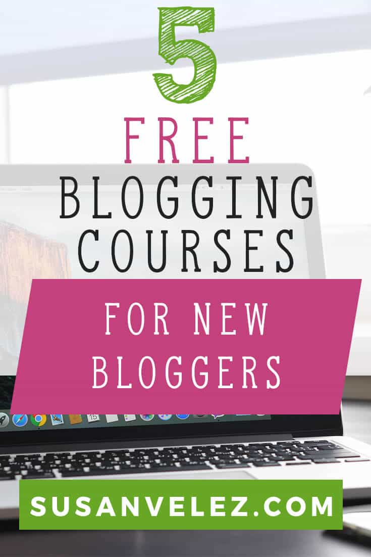 Blogging courses for new bloggers. Blogging is hard work and the last thing you want to do is spend money on tons of blogging courses. Here are some free blogging courses that will help you start a profitable blog so you can make money online. Use these blogging courses to set the foundation of your blog and work hard to grow and eventually it may make money.