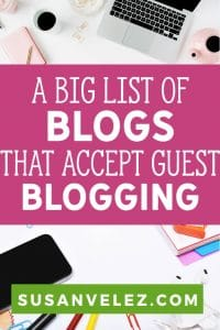 Are you considering using guest posting as a method to help you grow your blog? If so, I am going to share a site that has over 3,000 blogs that accept guest blogging to help you get your name out there. #blogging #content #bloggingtips