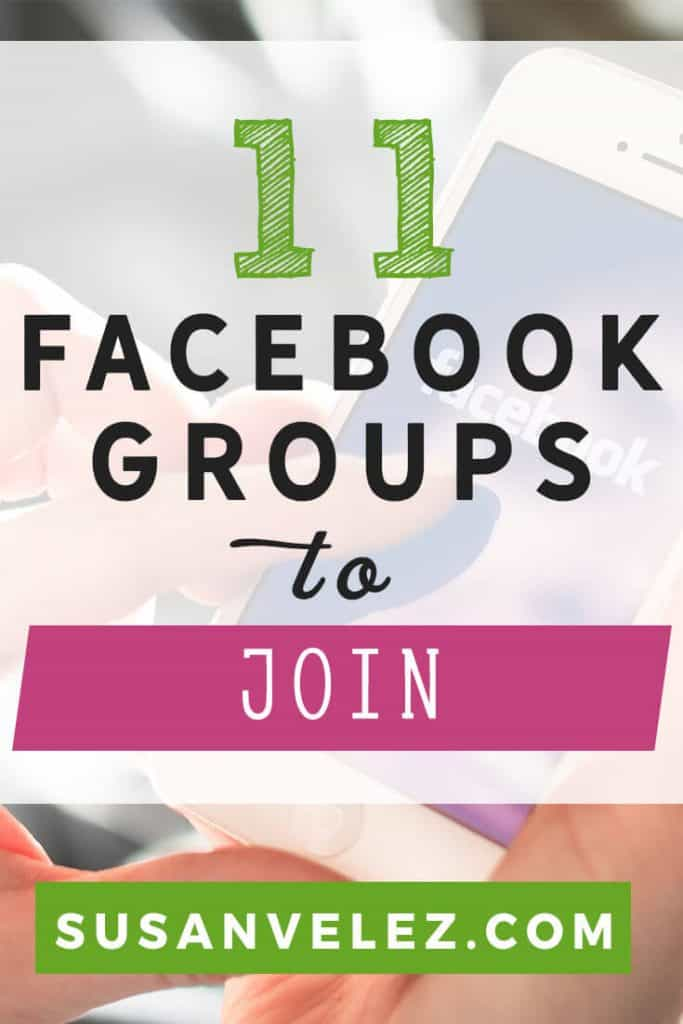 Facebook groups to join to help you grow your blog. Facebook marketing can be a great way to network and meet other bloggers. Join these Facebook groups and see how they can help you grow your blog.