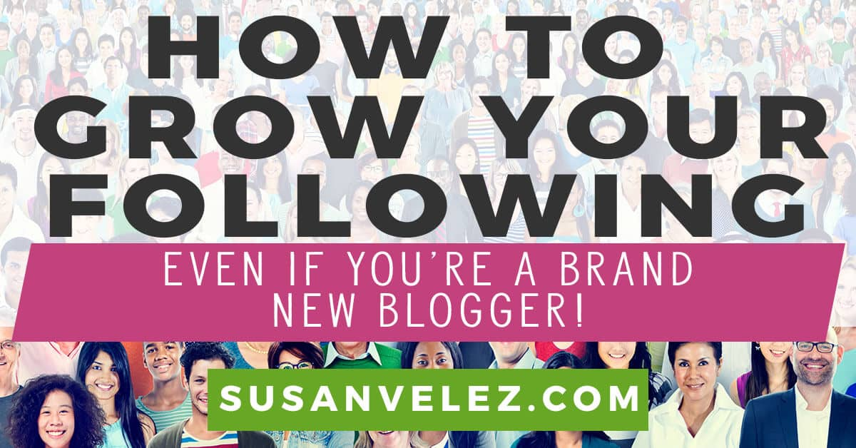 how to grow your blog following