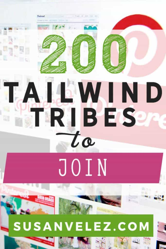 A great Pinterest strategy for new bloggers is to start promoting your blog on Pinterest. Discover 200 Tailwind Tribes you can join to help you grow your blog. It doesn't matter what niche you're in, you'll find a Tailwind Tribe you can join.