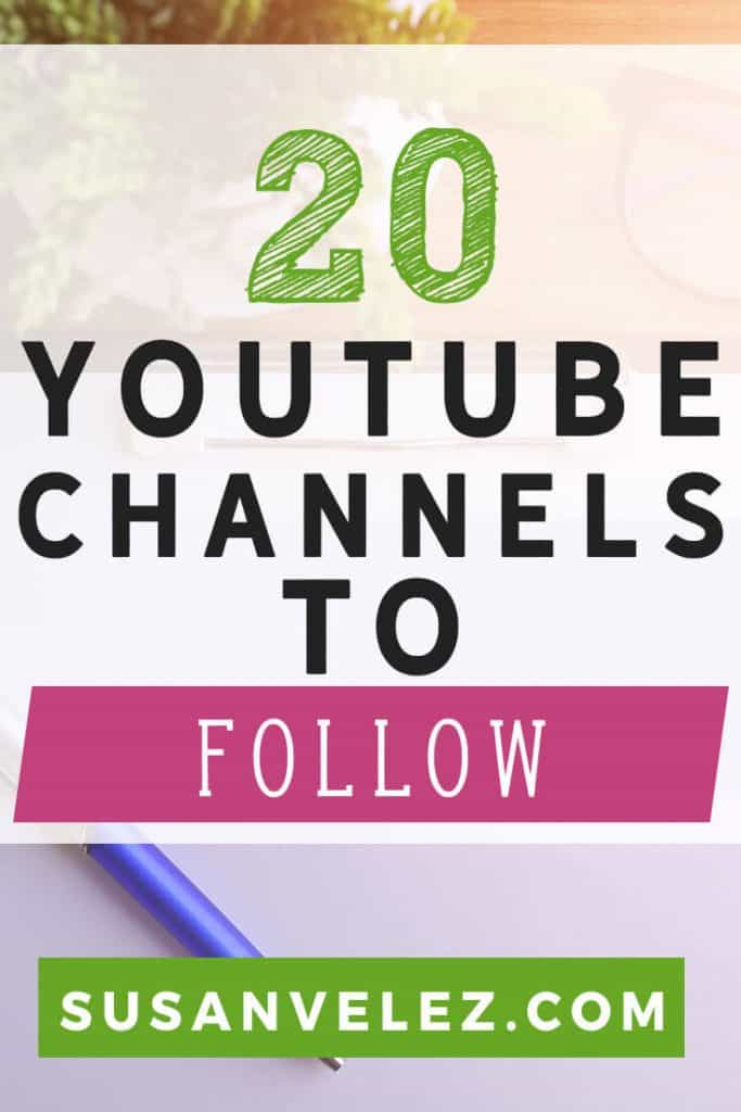 20 top YouTubers to follow. As new bloggers it's important to keep learning and educating ourselves. Learning how to start and grow a blog can be a challenge. If you're wanting to learn how to make money online or use your blog as a side income stream. There's always something that you need to learn. These YouTube channels will help new bloggers learn how to grow their blog and inspire you to keep blogging.