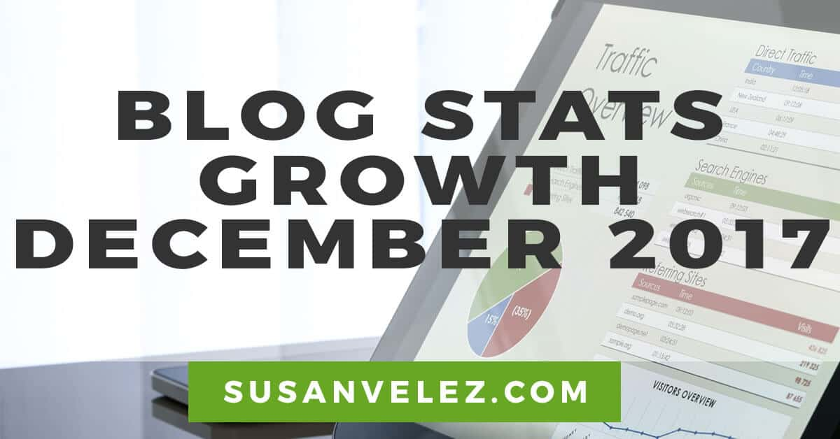 blog stats growth for December 2017