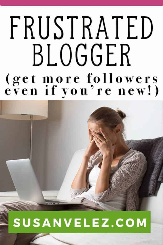 How to grow your blog following as a new blog. Growing a blog is hard, especially if you don't have any prior experience. Here are some common sense blogging tips that will help you learn how to grow your blog. https://susanvelez.com/how-to-get-more-blog-followers/